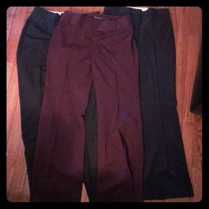 The Limited Pants 3 pairs dress pants size 2 S